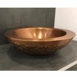 Capstona Lily Copper Wash Basin