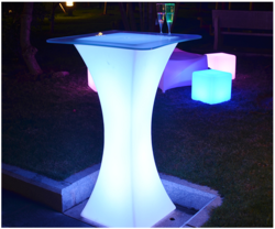 LED Designer Cocktail Table