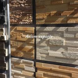 Sand stone Designer Cnc Wall Tiles, Packaging Type: Box Packing