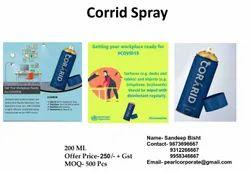 Sanitizer Corrid Spray covid 19