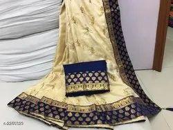 Tanya Gorgeous Two Tone  Silk Sarees