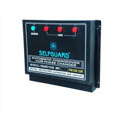 Selfguard 63 Amps. To 200 Amps Automatic Changeover Cum Phase Changer, For Generator, Triple Source