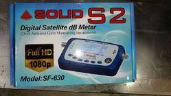 Solid HDS2 SF-630 Digital Satellite DB Meter