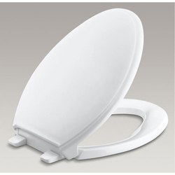 White Plastic Toilet Seat Cover, For To Cover Toilet Seat