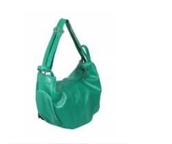 Green Fay Sholuder Cum Backpack