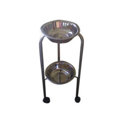 Double Bowl Stand