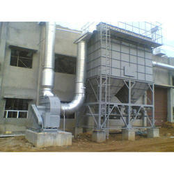 Industrial Lime Kiln Dust Collection System