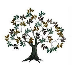 Iron Multicolor Handicraft Tree