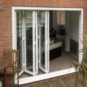 White Casement Bi Fold Doors