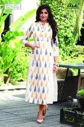 PRINTED KURTA WITH POCKET