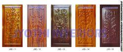 Membrane Pressed 3D  Doors