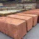 Red Sandstone Block