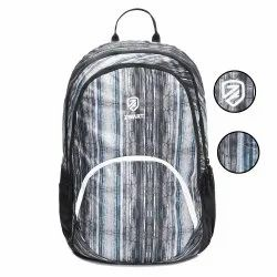 Wicker-Blue School Bag