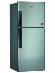 Double Door Silver Refrigerator