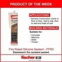 Elastomeric Fire Resistant Sealant