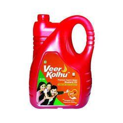 5L Veer Kolhu Premium Kachhi Ghani Mustard Oil
