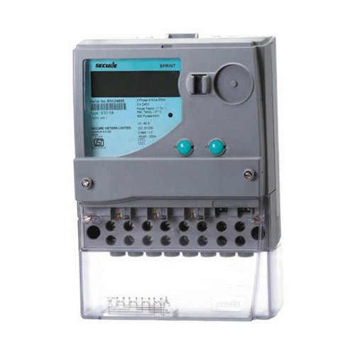 Secure 3 Phase Energy Meter