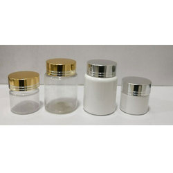 15 Ml PET Jar And 40 Ml PET Jar With Metal Cap