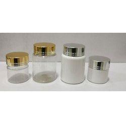 15 Ml PET Jar And 40 Ml PET Jar With Metal Cap