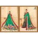 Rachna Art Silk Digital Printed Digi Mode Catalog Saree For Women 5