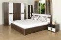 Nilkamal Wooden Lodgy Bedroom Set, For Home