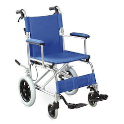 Rexine Fabric Wheel Chair