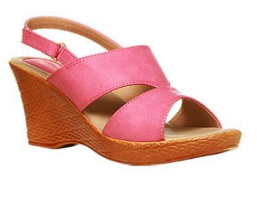 55c68c6298 Leather Formal Bata Pink Sandals For Women F761511200, Size: 3 4 5 6 ...