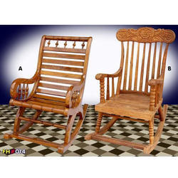 Wooden Folding Chair, Size: 21 x 21 inch