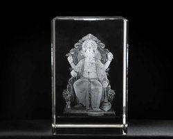 Ganesha Laser Inner Engraving