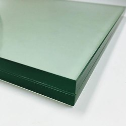 101-500 Square feet Plain Toughened Glass