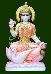 Gayatri Mata Marble Statue