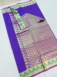 Pure Silk Kanchipuram silk saree
