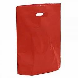 Plain Red D Cut Bag