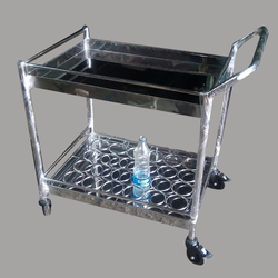 Stainless Steel Tea Snack Trolley