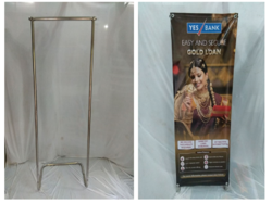 Foldable SS Display Stand