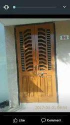 Wooden Designer Home Door
