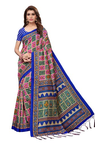 40fc24df01 Silk Daily Wear Saree, Length: 6.3 M, Rs 299 /piece, Gopala Sarees ...