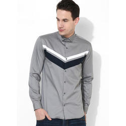 Mens Grey Club Wear Shirt