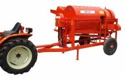 Small Tractor Paddy Thresher