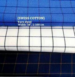 SWISS COTTON (yarn Dyed)