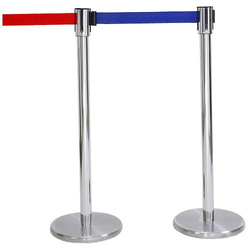 Metal Queue Stand