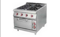 4 Burner Range With Oven GE- H001