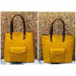 Cotton Tote Bag, Size: 17*15