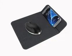 ROQ Foldable Phone Holder with 2 in 1 10W QI Wireless Charging Mousepad