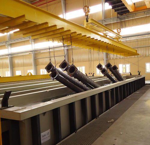 Tube Pipe Galvanizing Plant