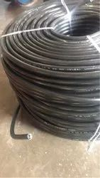 Pvc Black 10sqmm X 3 Core (7/54) Unarmoured Round Submersible Cable, 1100