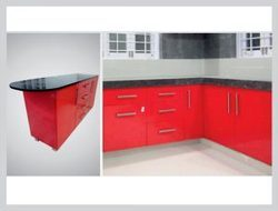 WPC MODULAR KITCHEN ¿¿¿ A waterproof, termite proof, clean & hygienic set up for homes