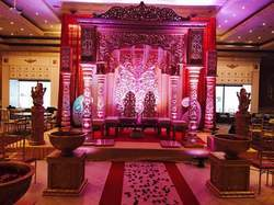 Theme Design Wedding Mandap, For Decoration
