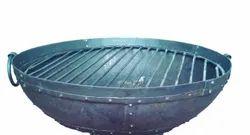MISTRI Old Iron Drums Sheet. Indian Traditional Kadai Bowl