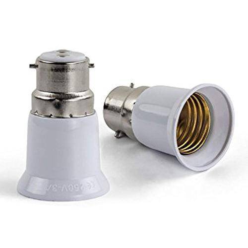 B22 To E27 Base Socket Lamp Holder Light Bulb Converter Adapter